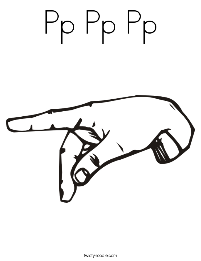 Pp Pp Pp Coloring Page