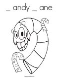_ andy _ ane Coloring Page