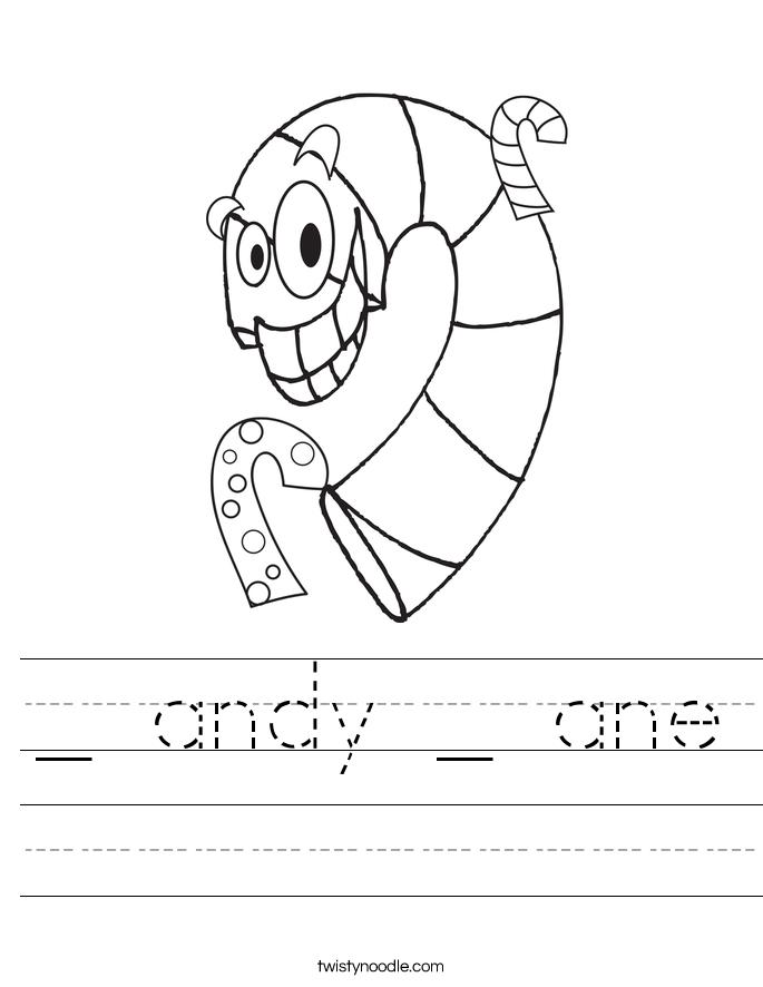 _ andy _ ane Worksheet