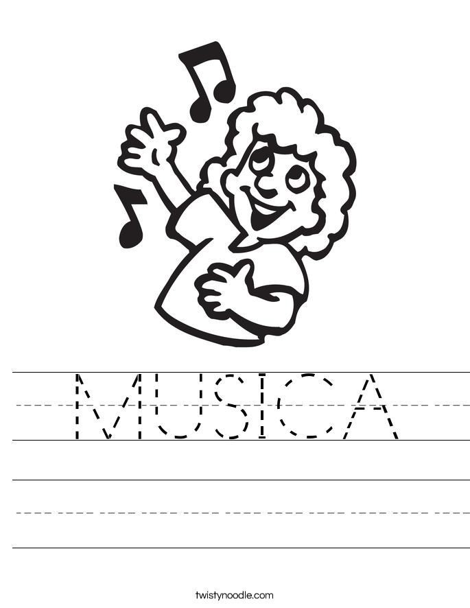 MUSICA Worksheet