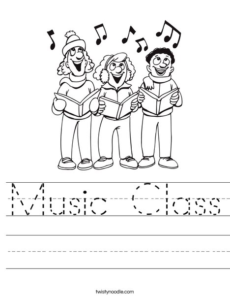 Singers Worksheet