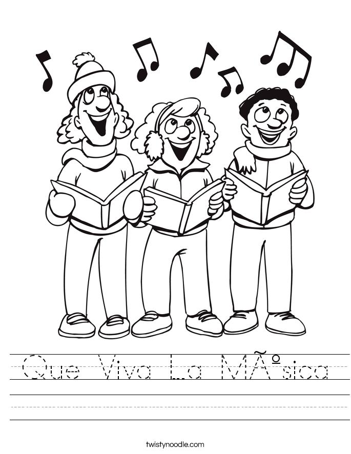 Que Viva La Música Worksheet