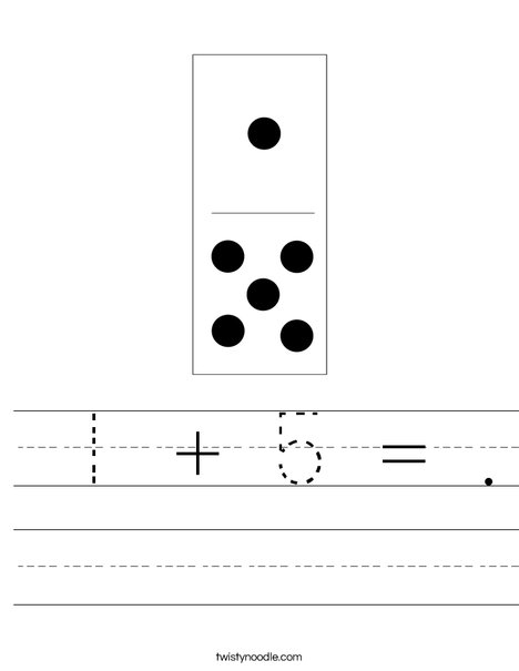 Domino Six Worksheet