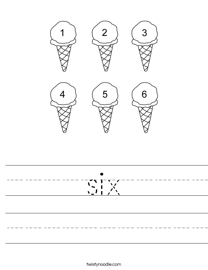 six Worksheet