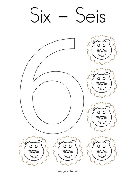 Elephant Six Coloring Page