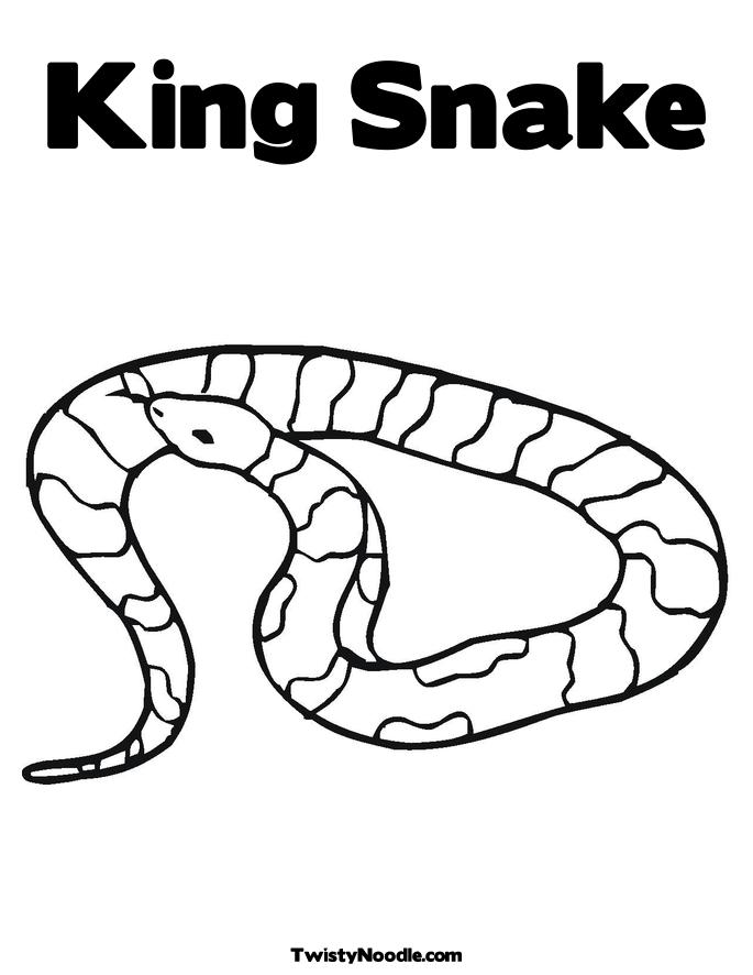 coloring pages cotton mouth snake - photo#5