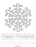 Happy Hooligans! Worksheet