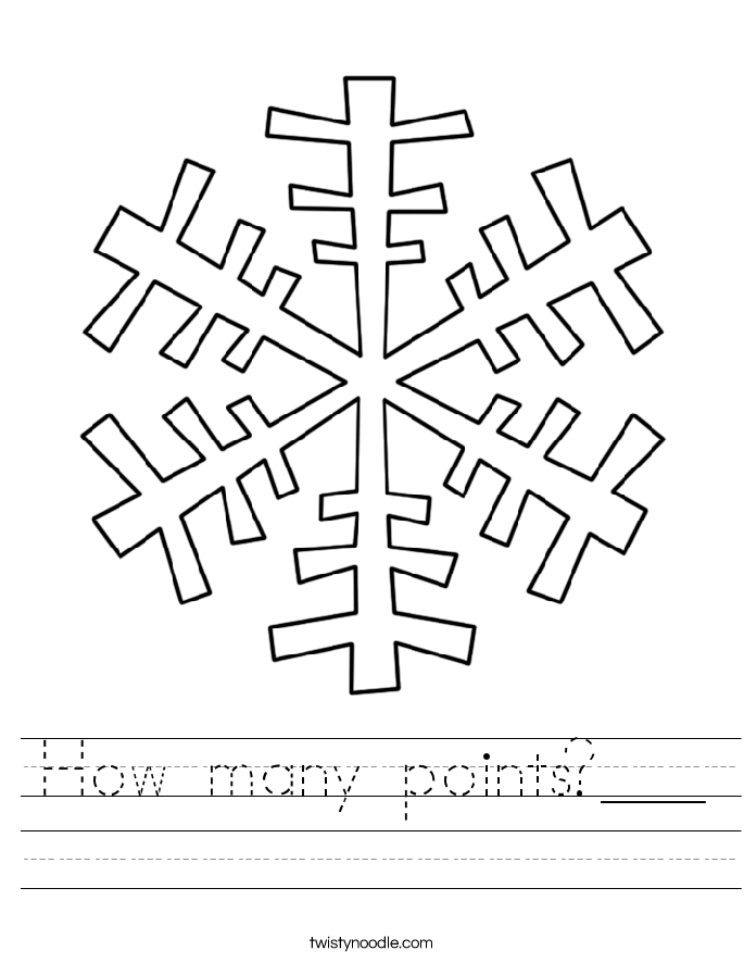 How many points?___ Worksheet