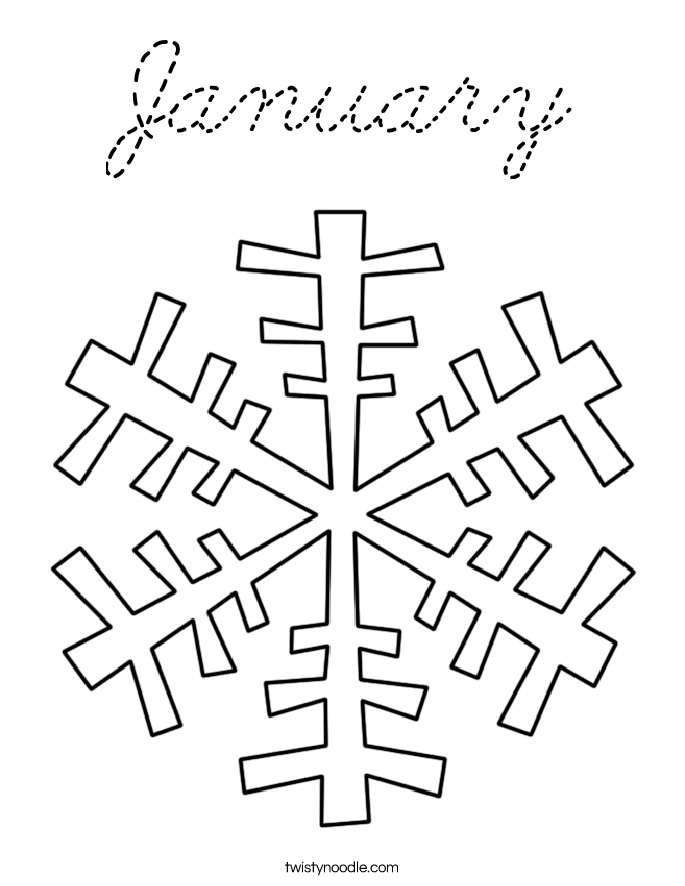 january coloring pages lesson plans - photo#27