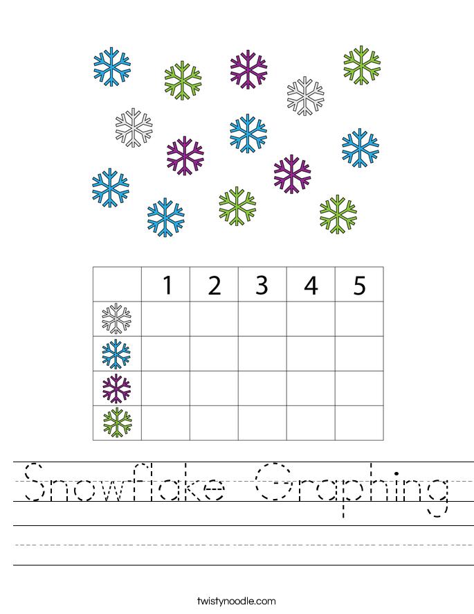 Snowflake Graphing Worksheet