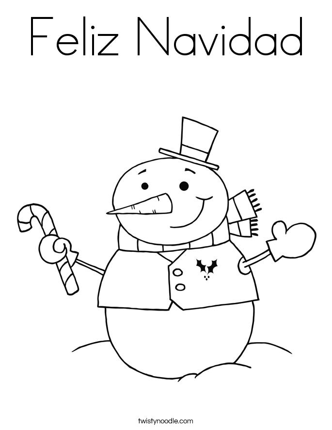 Feliz Navidad Coloring Pages Coloring Pages Feliz Navidad Coloring Pages
