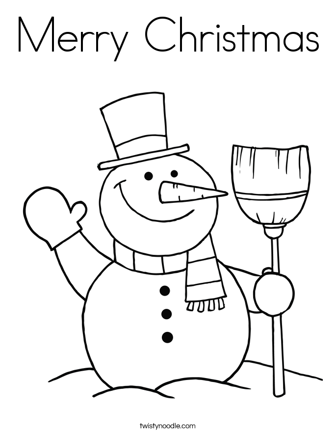 Merry Christmas Coloring 13 670820