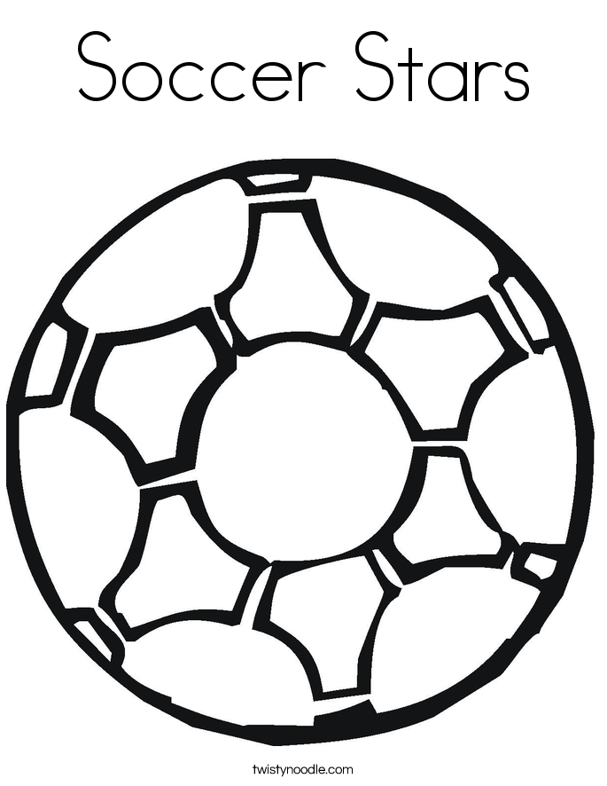 29 the fotball boll colouring pages - Soccer Ball Coloring Page