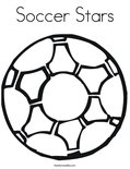 Soccer Stars Coloring Page
