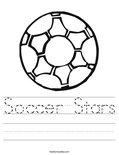 Soccer Stars Worksheet