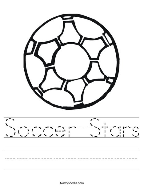 Soccer Ball 2 Worksheet