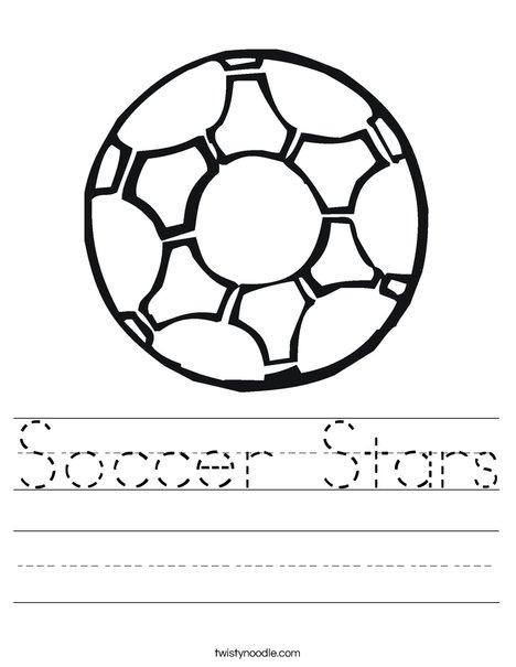 Soccer Ball 2 Worksheet