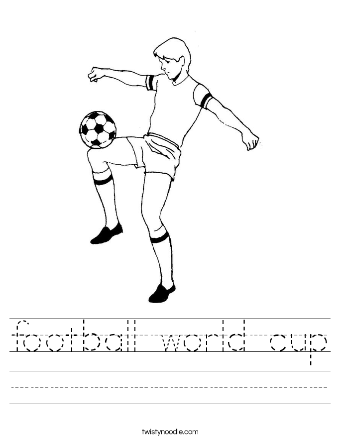 football world cup Worksheet