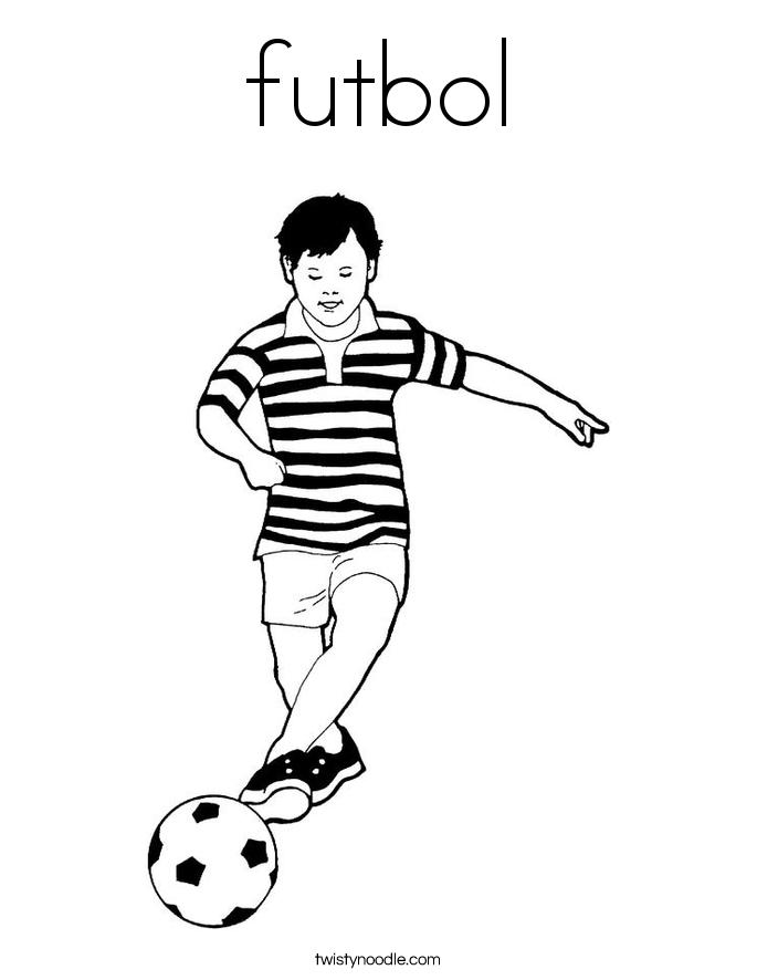 futbol Coloring Page