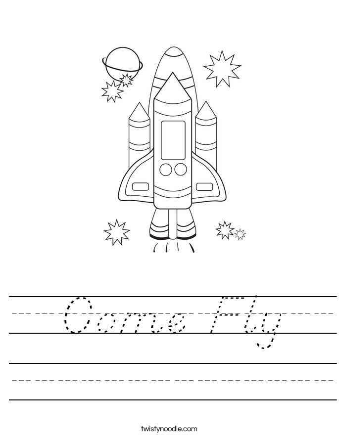 Come Fly Worksheet