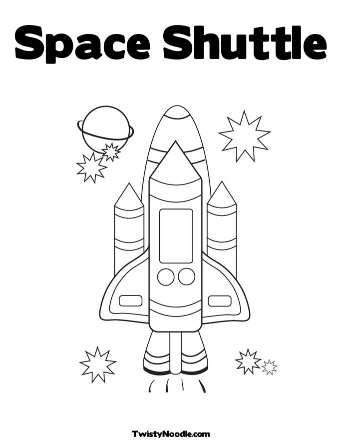 space needle easy coloring pages