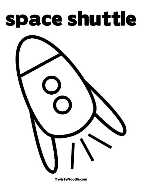 space shuttle outline pics about space