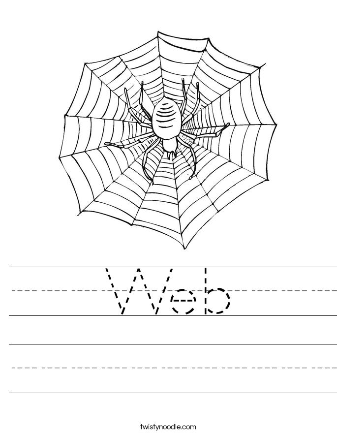 Web Worksheet