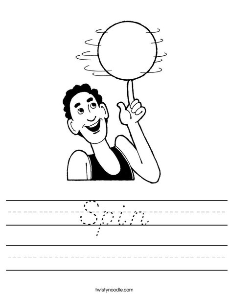 Spin Worksheet