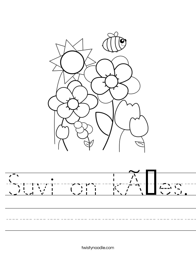 Suvi on käes. Worksheet