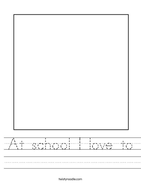 Square 1 Worksheet