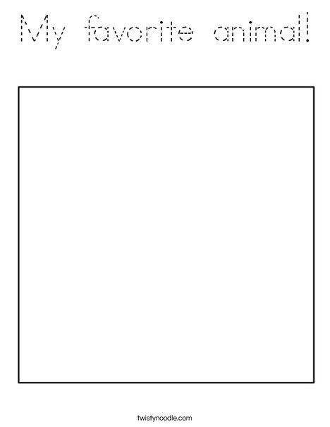 Square 1 Coloring Page