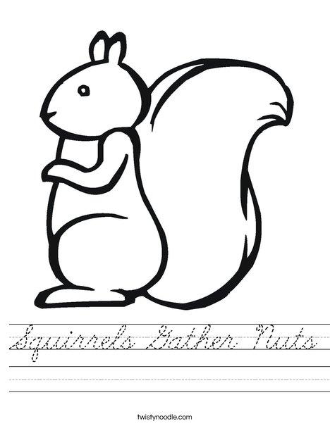 Squirrel2 Worksheet
