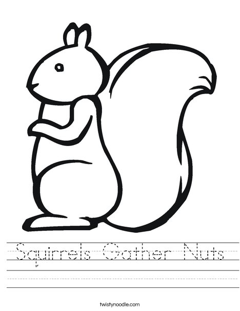 Squirrel2 Worksheet