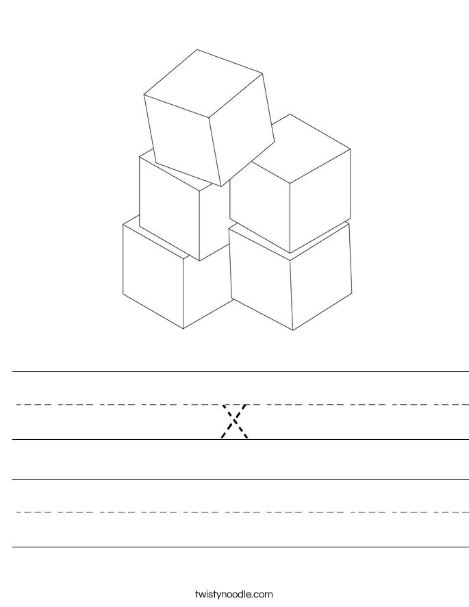 x Worksheet