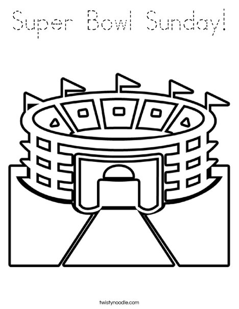 Stadium 2 Coloring Page