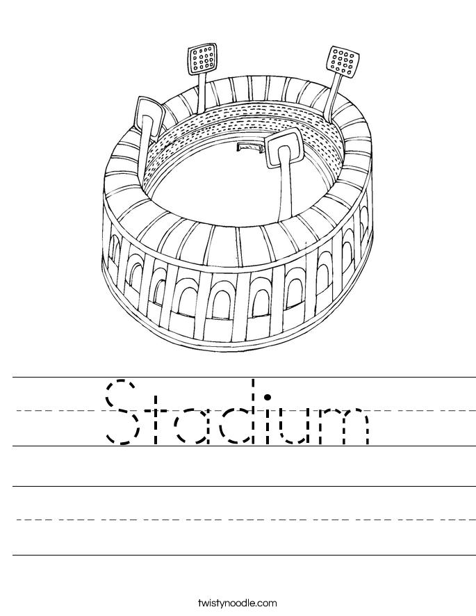 Stadium Worksheet