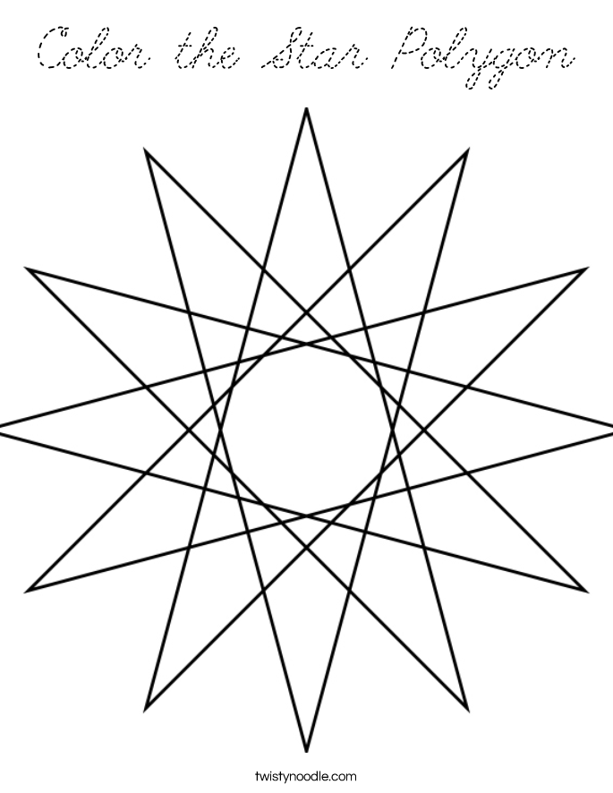 Octagon Shape Coloring Pages Tom Mosaic Coloring Pages