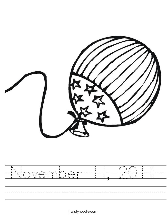 November 11, 2011 Worksheet