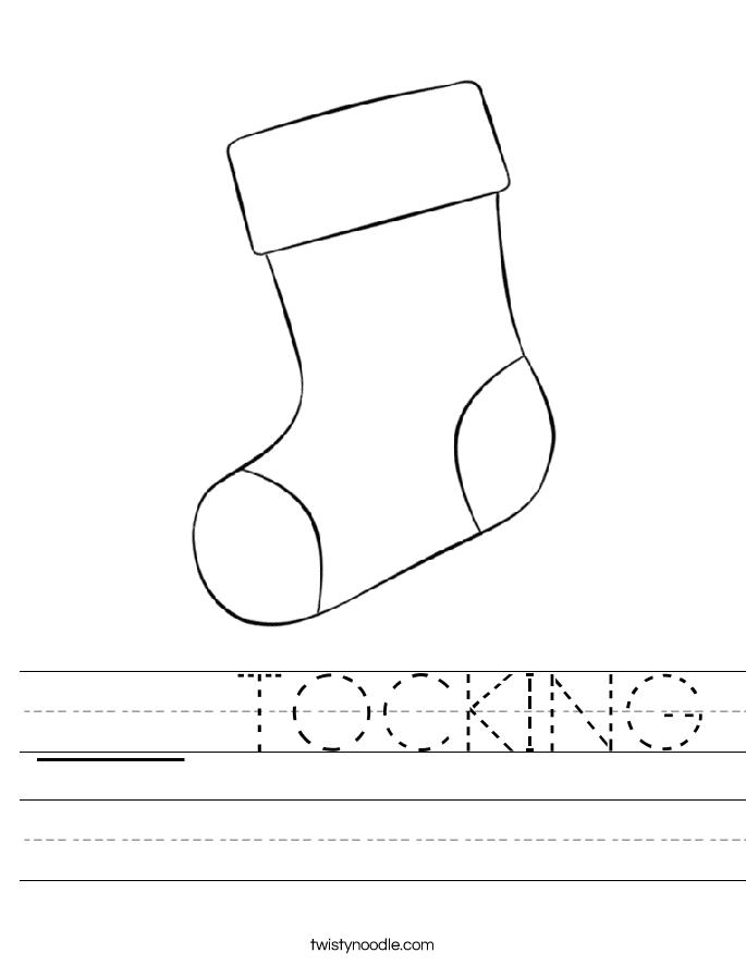 ___ TOCKING Worksheet