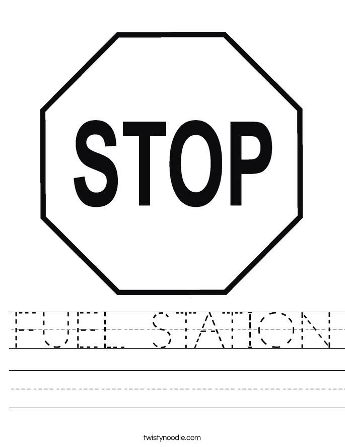 FUEL STATION Worksheet