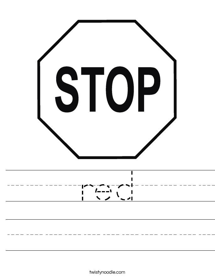 red Worksheet