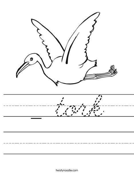 Stork Worksheet