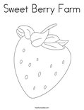 Sweet Berry FarmColoring Page