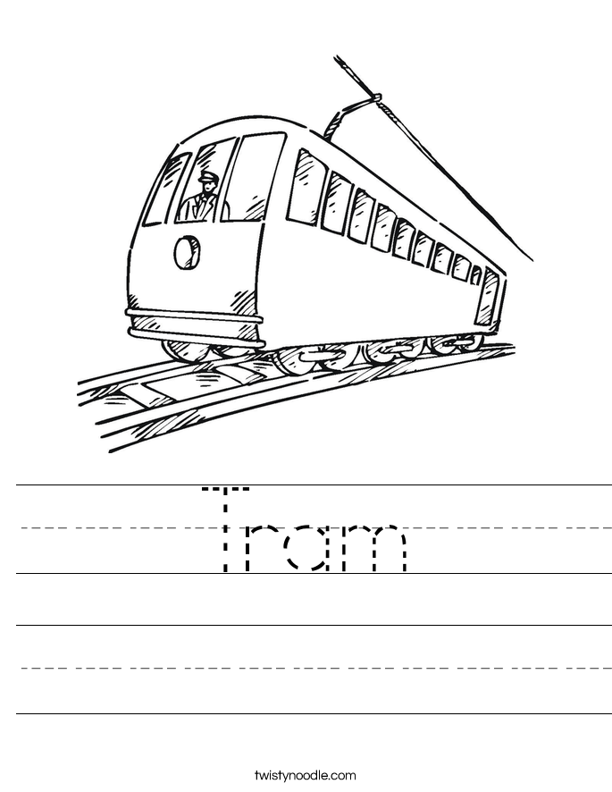 Tram Worksheet