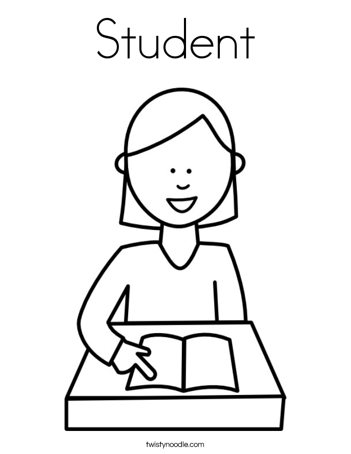 Free Coloring Pages Of Teacher And Student Coloring Pages Students