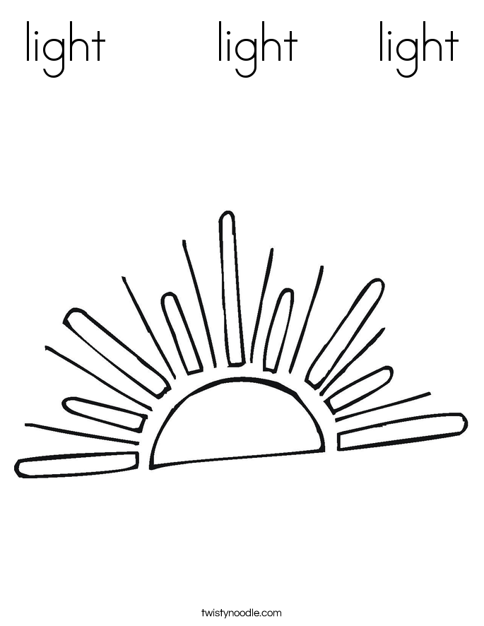 light       light     light Coloring Page