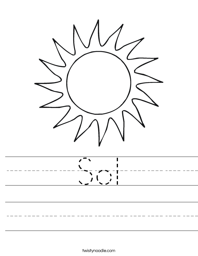 Sol Worksheet