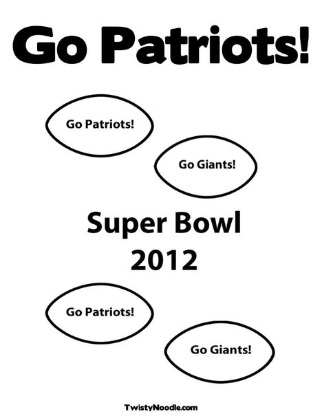 patriots blank coloring pages - photo#32
