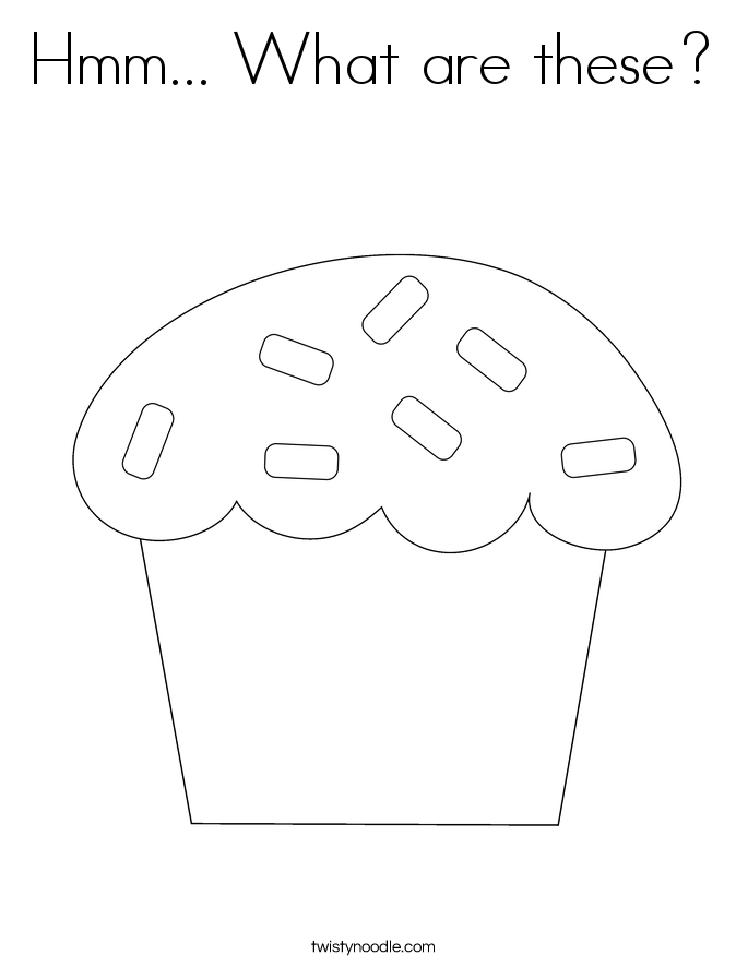 Hmm... What are these? Coloring Page