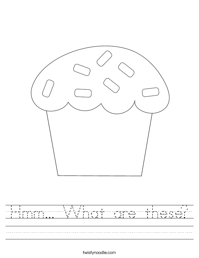 Hmm... What are these? Worksheet